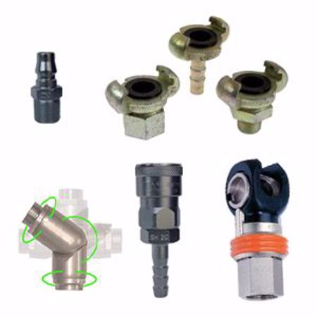 Picture for category Multi-Directional Swivel Fittings, Quick Release & Standard Couplers